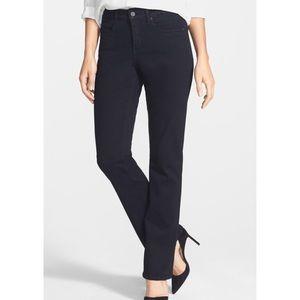 NYDJ   EUC Black Stretch Bootcut Jeans - Size 6